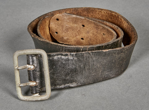 German WWII Wehrmacht Officer's Belt and Buckle Set