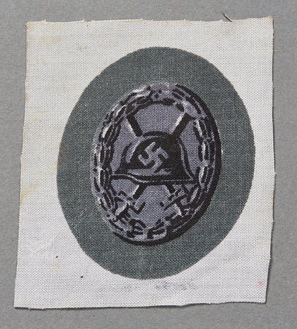 German WWII Black Wound Badge in Cloth