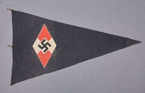 Large Third Reich Hitler Youth Pennant