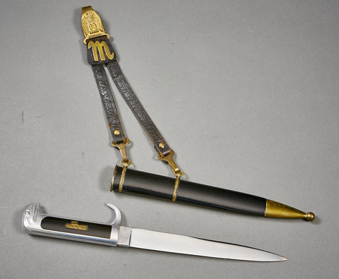 Italian WWII Fascist MSVN Leader's Dagger with Hangers***STILL AVAILABLE***