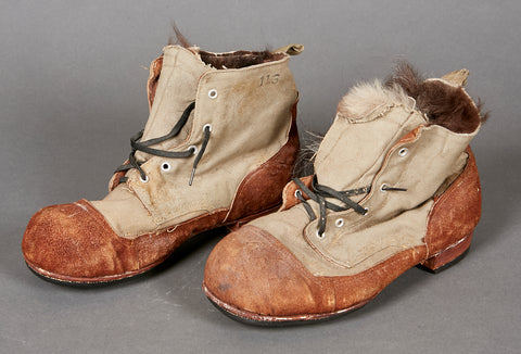 German WWII Japanese Winter Short Boots