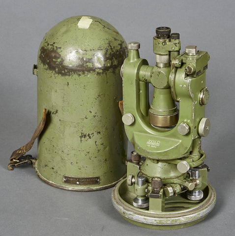 WWII era Theodolite, T1 by Wild of Switzerland