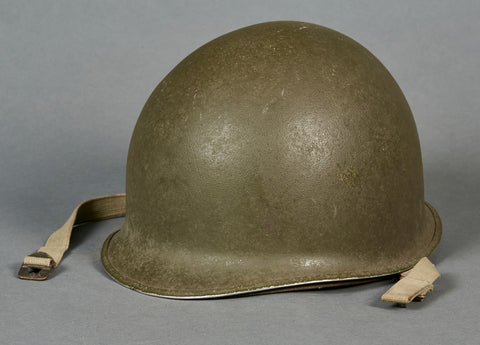 US WWII Made M-1 Combat Helmet