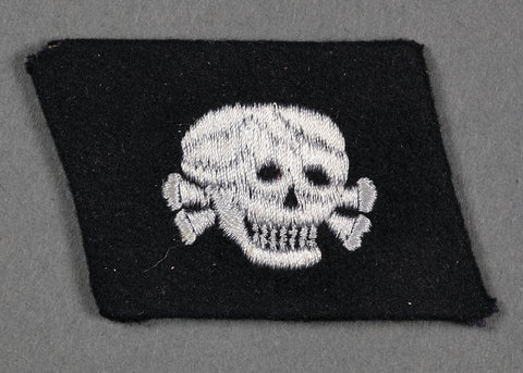 "Collar Tab for 3.SS Panzer Division ""Totenkopf"" Enlisted"