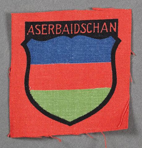 WWII Sleeve Shield for Aserbaidschan Foreign Volunteer
