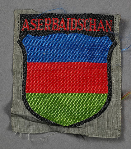 Sleeve Shield for Aserbaidschan Foreign Volunteer