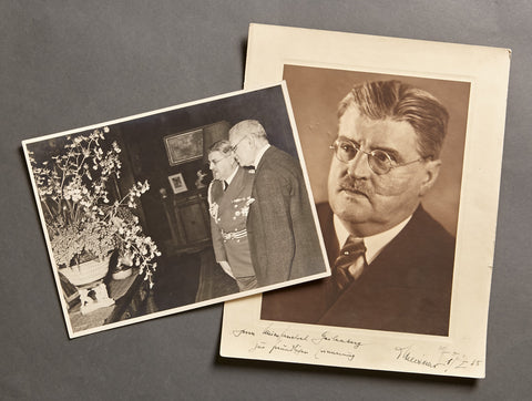 Signed Official Portrait and Press Release Photo of Otto M