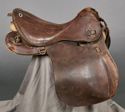 WWII German Military Horse Saddle
