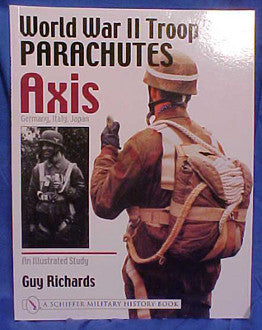 World War II Troop Type Parachutes AXIS