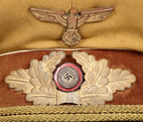 WWII German Kreis Level Political Leader's Visor Cap