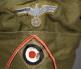Excellent DAK Trop Overseas Cap for Other Ranks Panzer