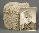 WWII German Wehrmacht Private Purchase Sheepskin Cap