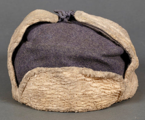 WWII German Luftwaffe Winter Padded Cap