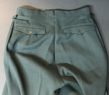 WWII German Municipal Police Straight Legged Trousers