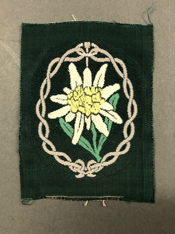 WWII German Army Gebirgsjäger Sleeve Patch