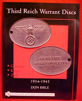 Third Reich Warrant Disks