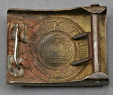 Interesting WWI Army Buckle