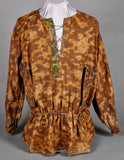 "Extremely Rare Model 1940 SS ""Blurred Edge"" Reversible Camouflage Smock"