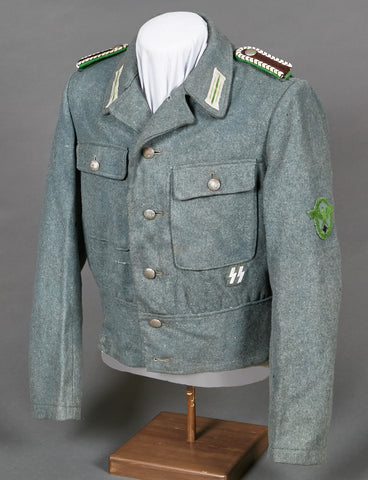 WWII German Model 1944 Police NCO Tunic