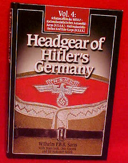 Headgear of Hitler's Germany, Volume IV
