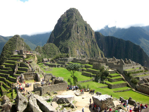 Machu Pichu with Food Poisoning, Altitude Sickness and Mick Jagger