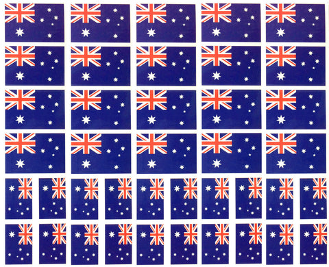 Australia Flag Temporary Tattoo