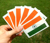India flag temporary tattoo