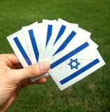 israel flag temporary tattoos