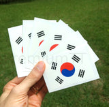 South Korea temporary tattoos