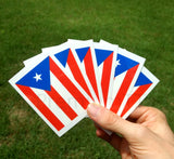 Puerto Rico temporary tattoo