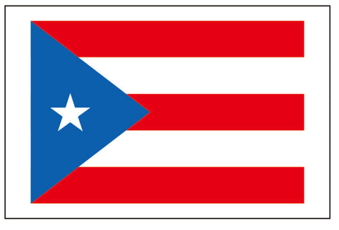 Puerto Rico flag tattoo