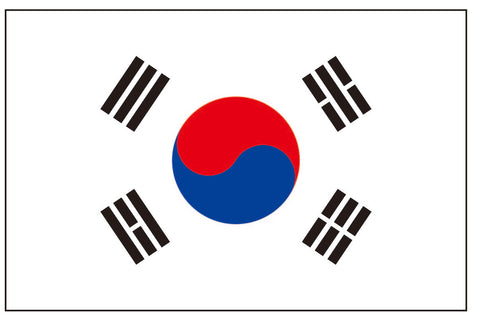 south korea flag tattoo