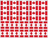 canada flag temporary tattoo