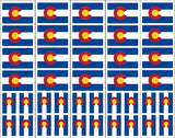 Colorado Flag Decals & Sticker