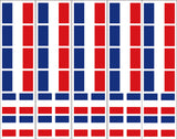 France French Flag Stickers Decals