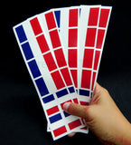 French Flag Party Favor