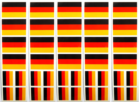 Germany Flag Removable Stickers