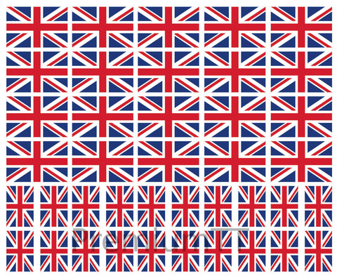 UK united kingdom british flag tattoo