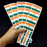 Indian Flag Party Stickers