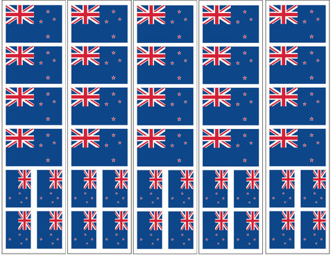 New Zealand Flag Temporary Tattoo