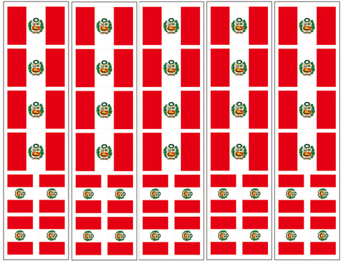 peru flag stickers