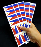 Philippines Flag Decals, Stickers