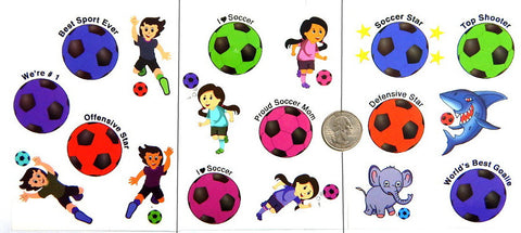 soccer futbol football party favors