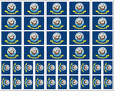 U.S. Navy Flag stickers