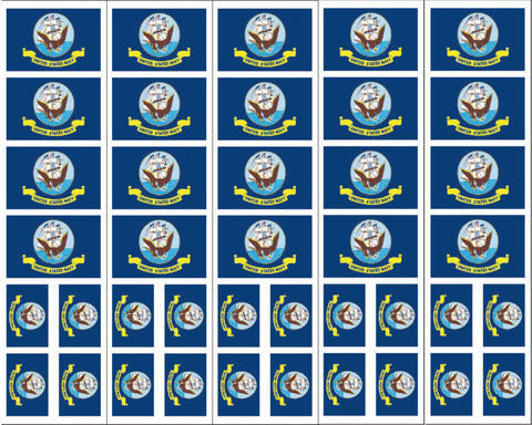 U.S. Navy Flag tattoos