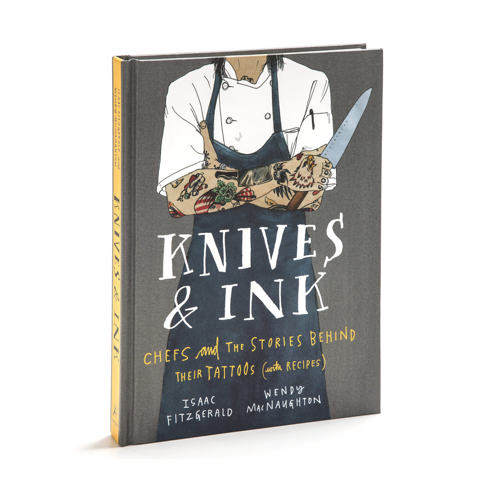 Knives and Ink: Chefs and The Stories Behind Their Tattoos (with Recipes). SIgned