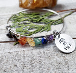 Zen as fuck Chakra bangle