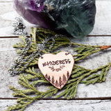 Wanderess heart necklace