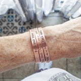 Find your tribe - love them hard Cuff bracelet