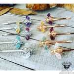 Gemstone Bee hair pin-Wanderlust Hearts